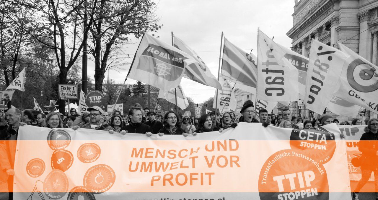 Demonstration TTIP Stoppen